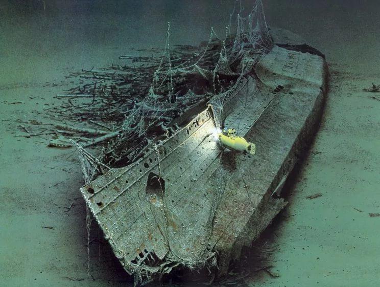 Фото 18 - Остов Лузитании на дне Кельтского моря.jpg