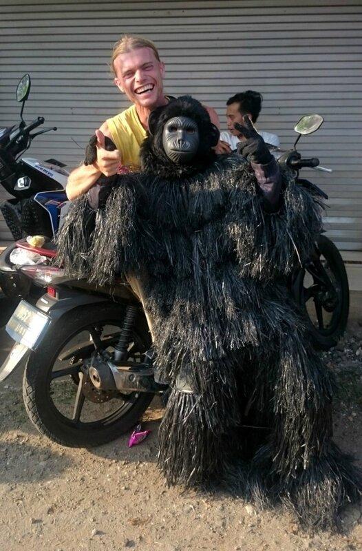 Фото с гориллой
