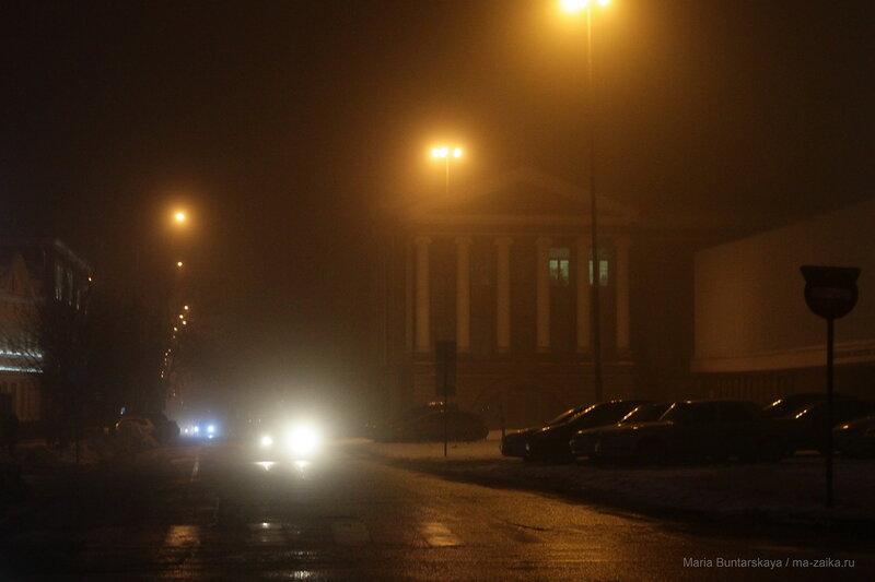 Туман, Саратов, 07 января 2017 года