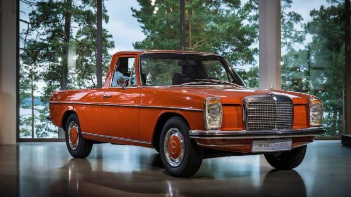 Серийный пикап Mercedes-Benz из 70-х