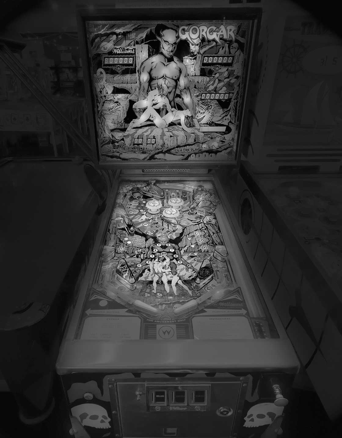 Pinball Machines - Documenting vintage pinball machines in arcades