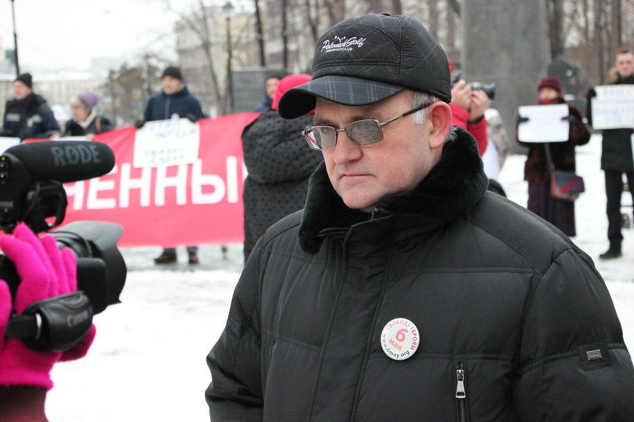 Сергей Кривов - бывший узник по «Болотному делу»