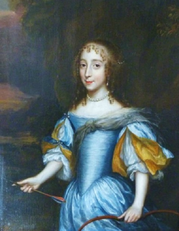1635 Unknown artist, A Young Lady As Diana The Huntress.jpg