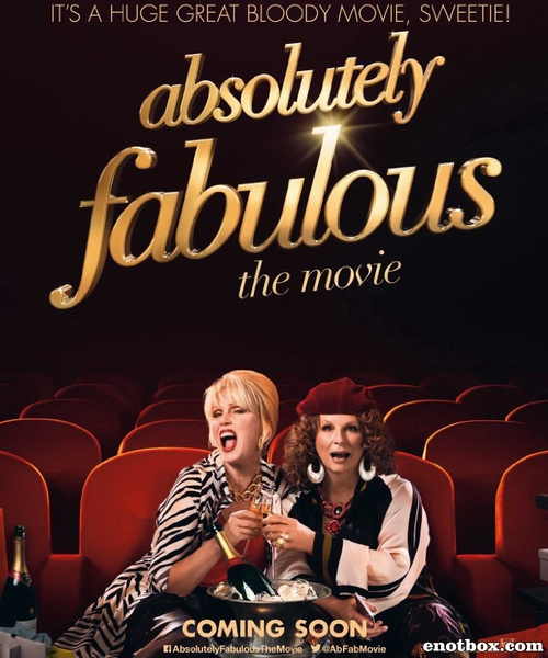 Просто потрясающе / Absolutely Fabulous: The Movie (2016/WEB-DL/WEB-DLRip)