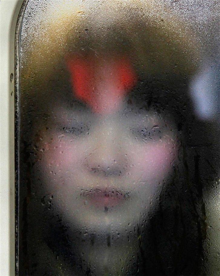 Лица токийского метро / tokyo compression by michael wolf