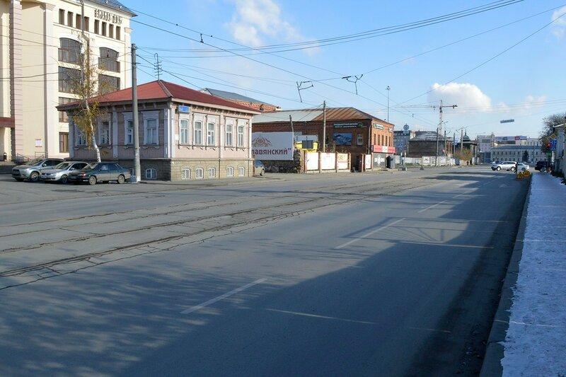 Улица Труда. Чётная сторона