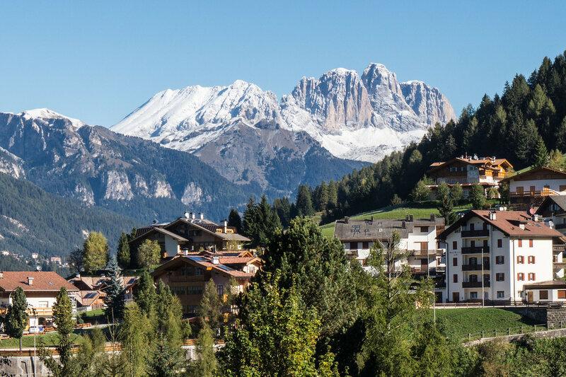 Moena, долина Фасса, доломитовые альпы