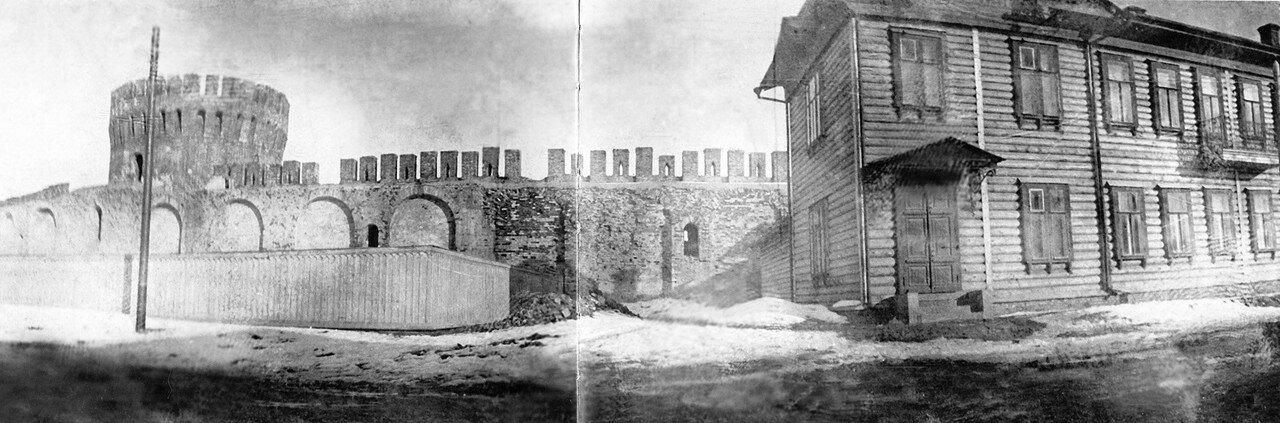 Долгочевская башня и Авраамиевская улица. 1902
