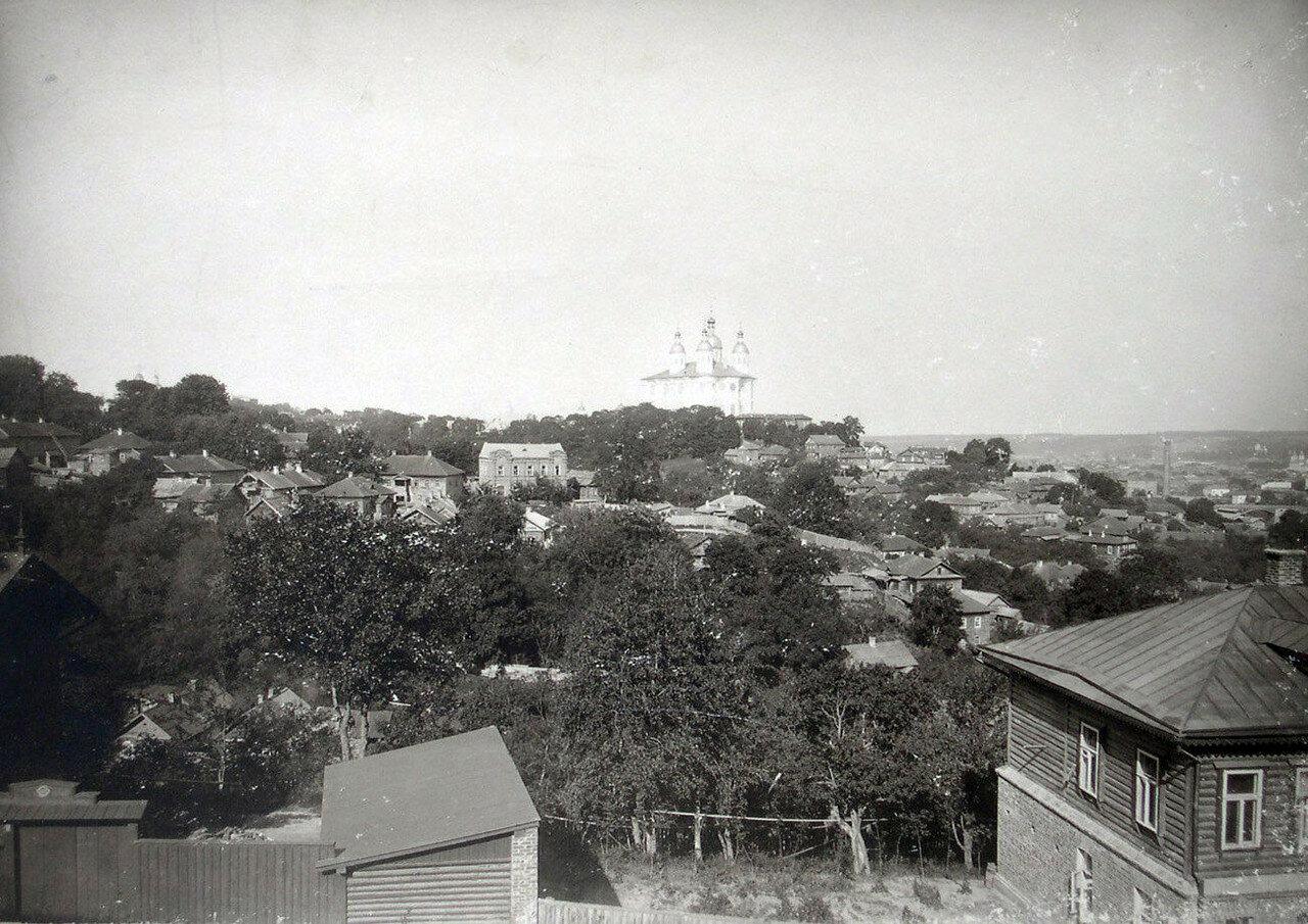 Вид на Успенский собор. 1901