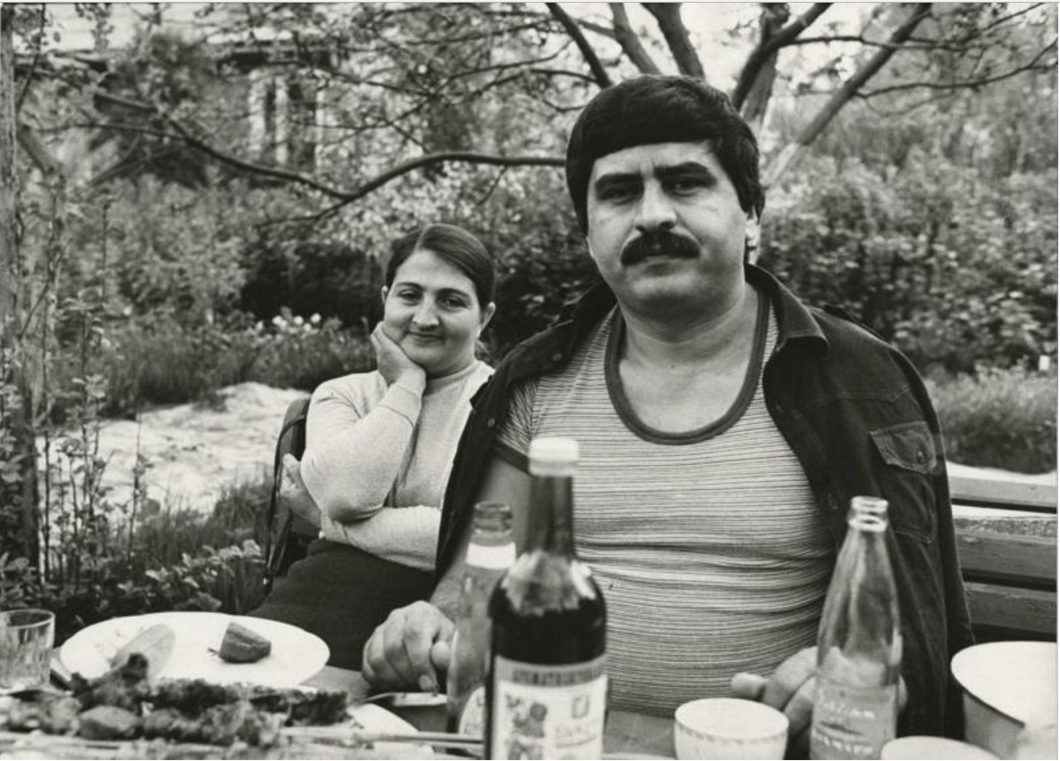 1990-е. В саду