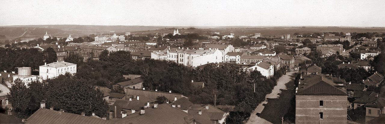 Панорама города (восток). 1908