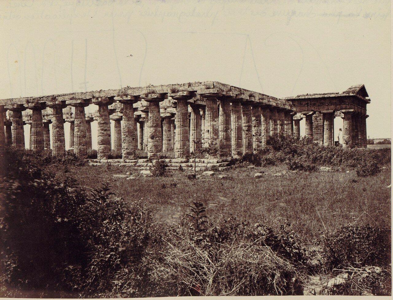 Пестум. Храм Геры-II,  храм Геры-I и храм Цереры