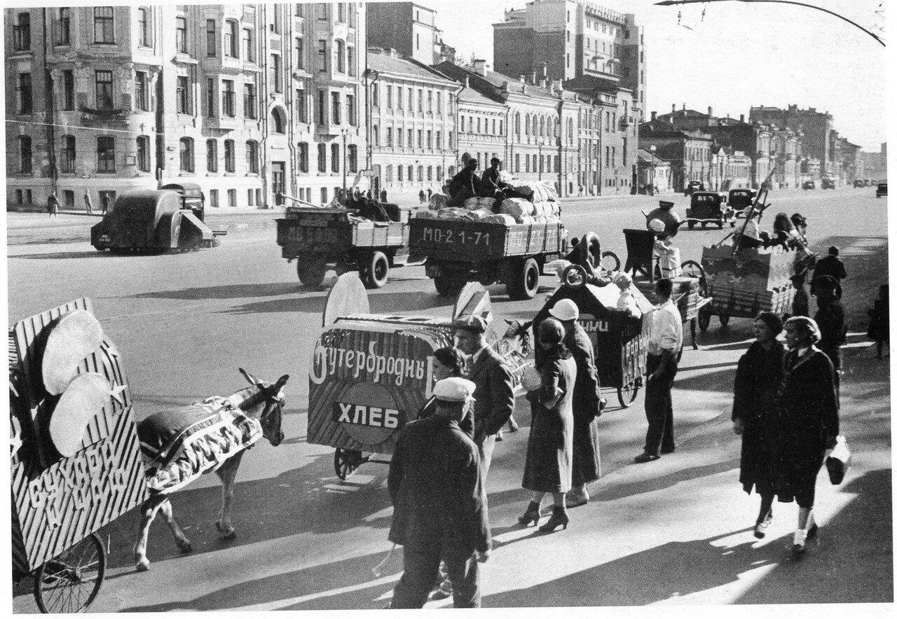 1938. Садовая-Кудринская улица