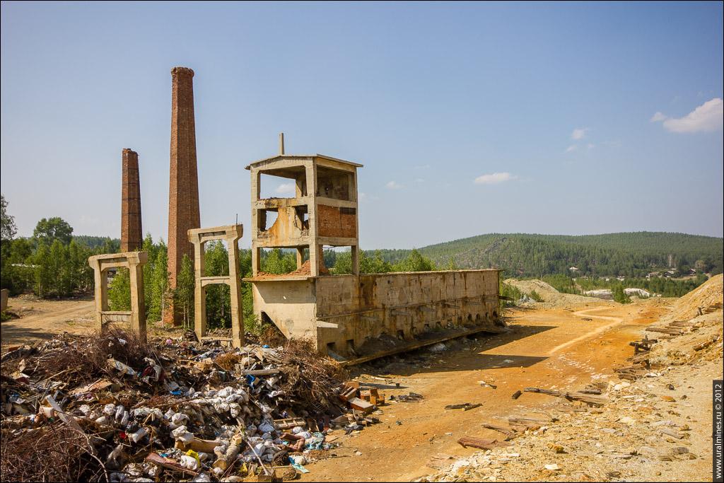 Северо-Карабашский рудник шахта Центральная