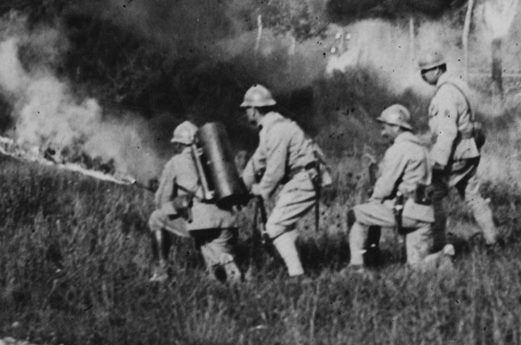 Ww1 flammenwerfer