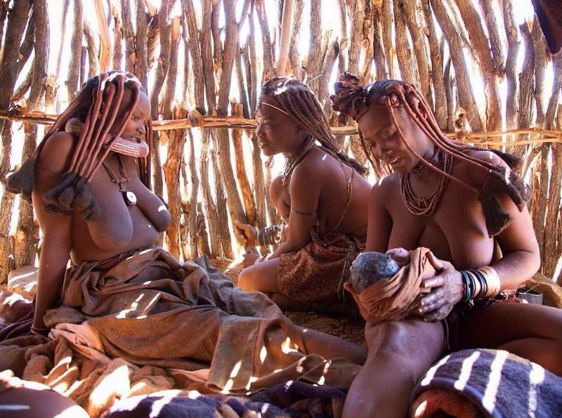 Женские обряды диких племен