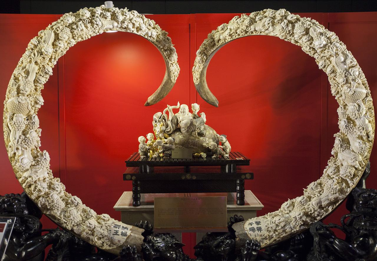 CHINA HONG KONG MAMMOTH IVORY EXHIBITION