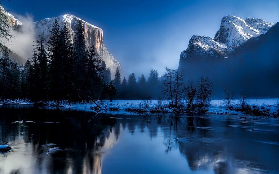 Пейзажи Зимы