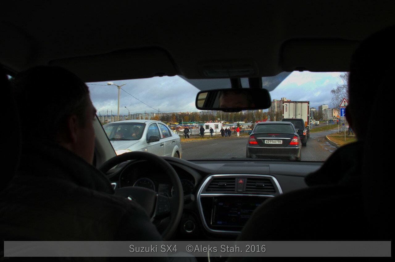 Suzuki SX4 презентация
