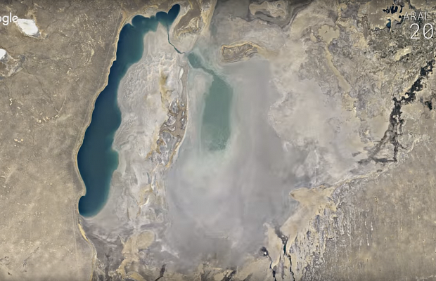 «Машина времени» вGoogle Earth отправит на32 года в прошедшее