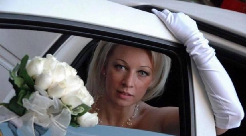 Спикер МИДРФ Мария Захарова поделилась свадебным снимком 11-летней давности
