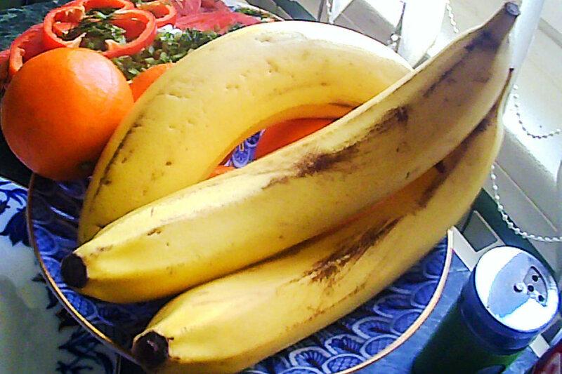 натюрморт с бананами