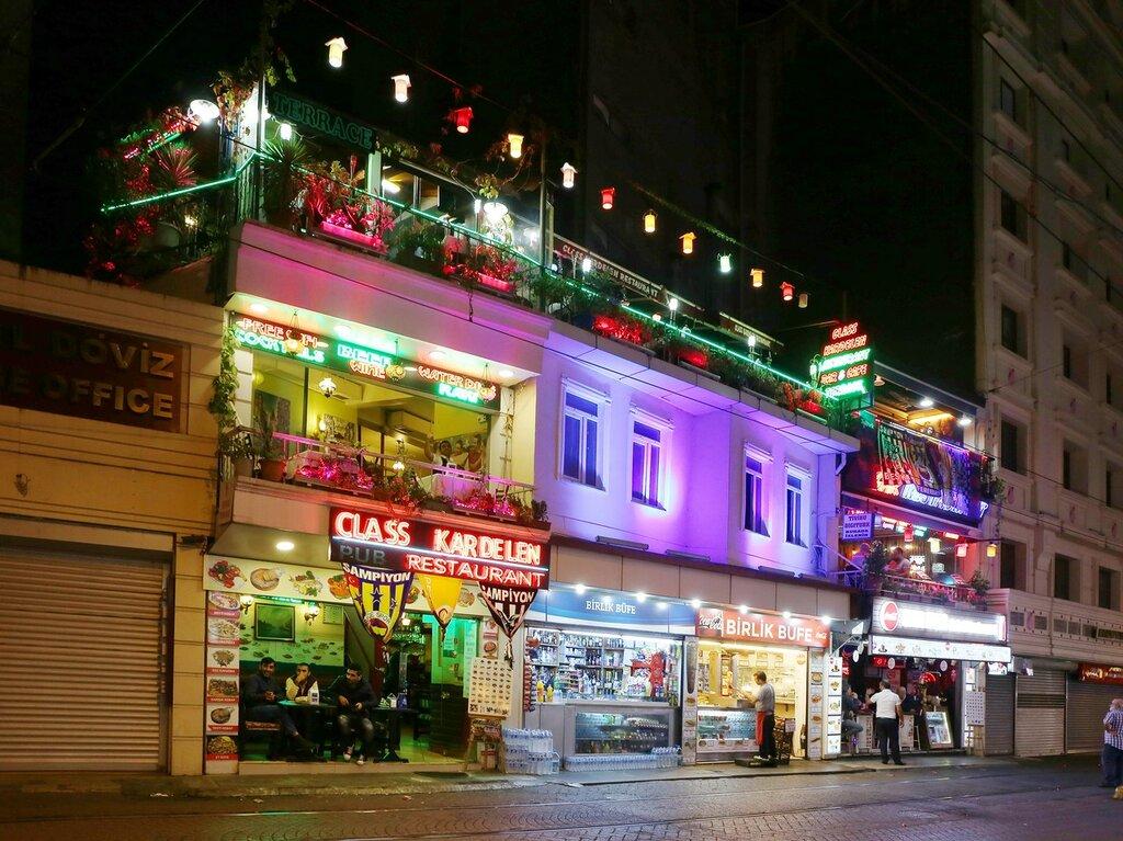 Ночной Стамбул. Сарайбурну