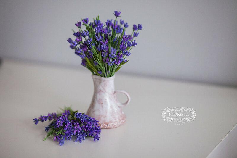 Цветы из японской глины DECO .