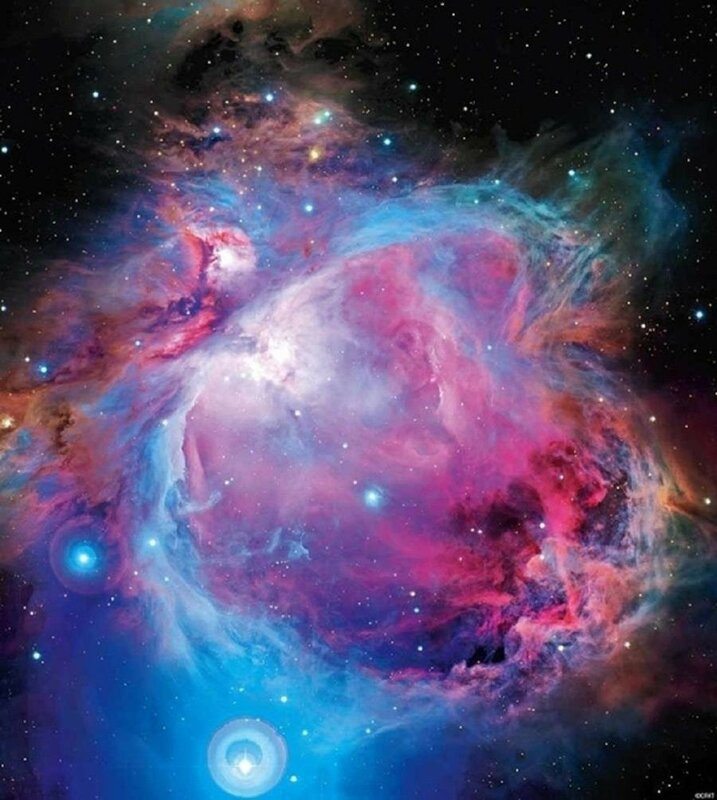 Загадочная туманность Ориона: только факты и фотографии