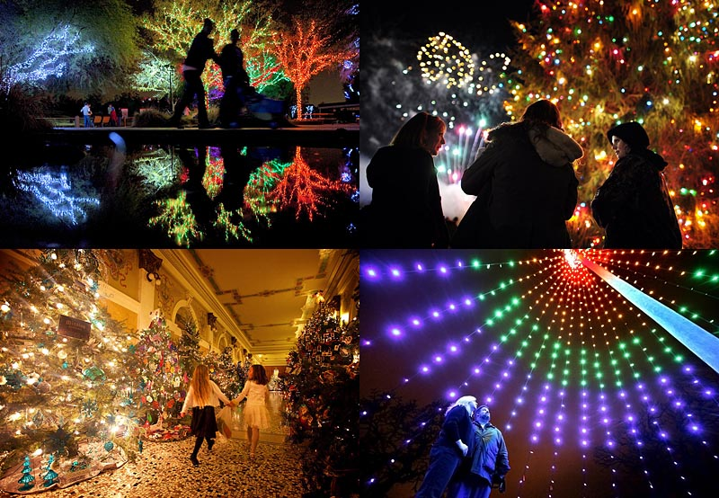 Новогодние огни (35 фото)