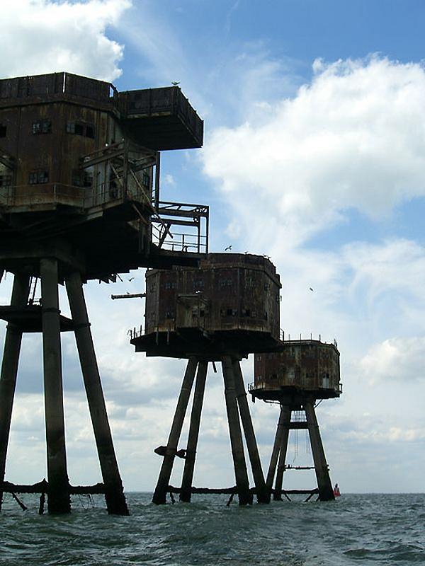 14. Разработки Монселла были использованы при постройке буровых платформ. Фактически, первая морская