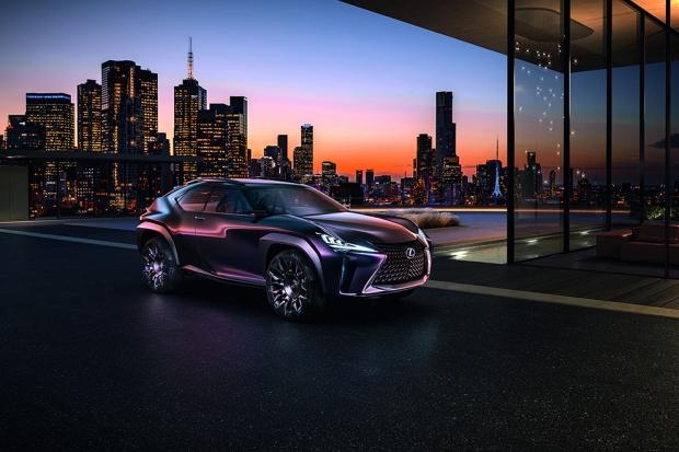 Lexus UX Concept В отличие от французов японцы более конкретно подходят к дизайну концептов. Так что