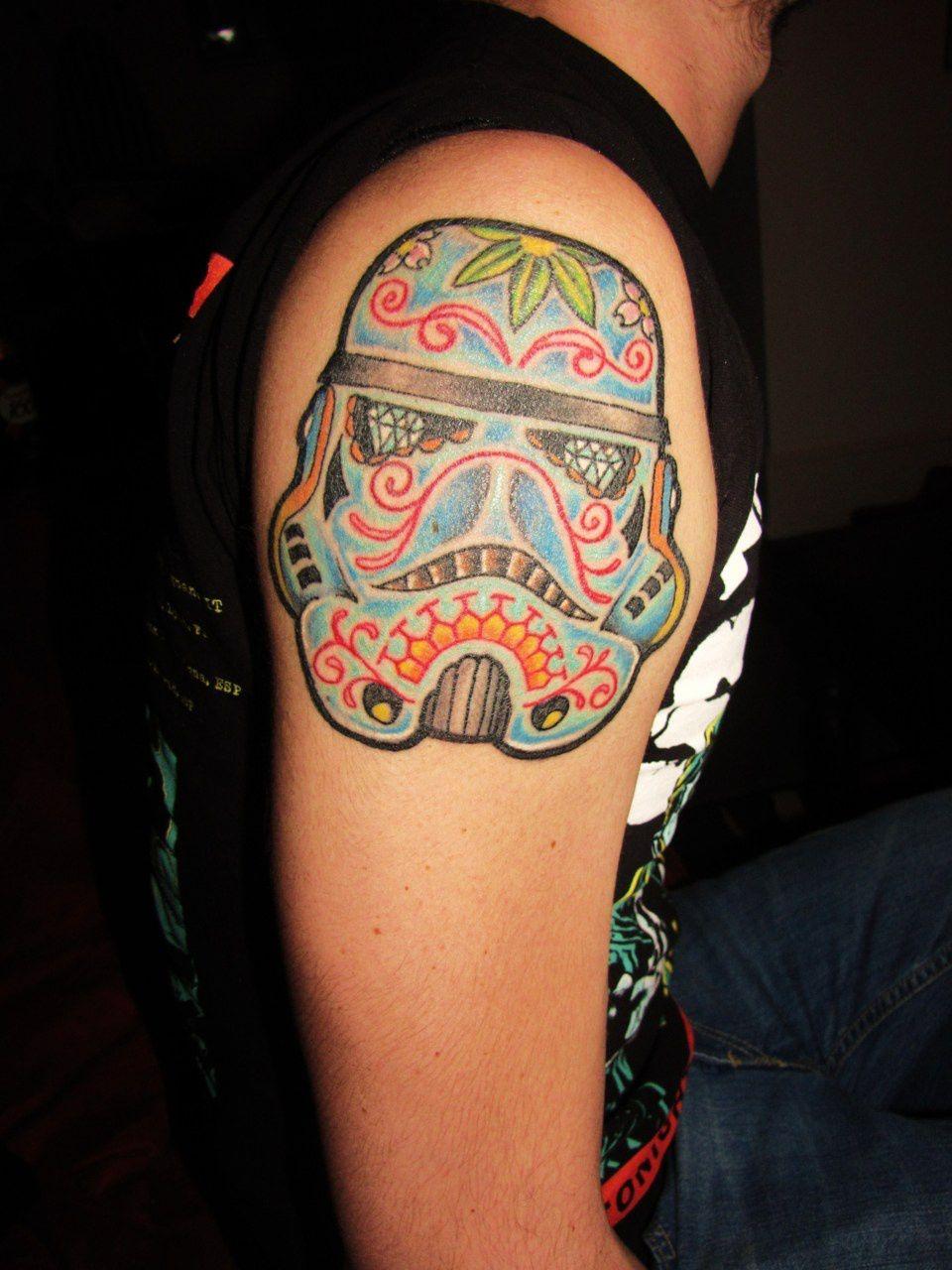 Татуировки на тему Star Wars (60 фото)