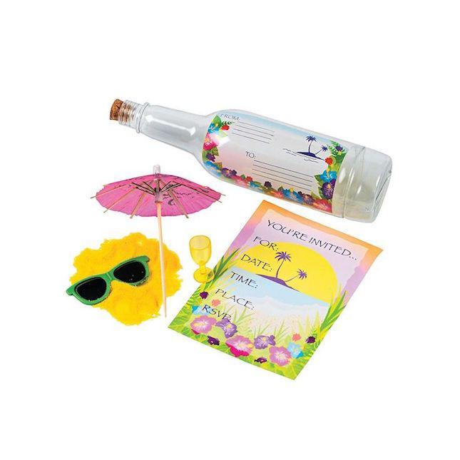 12. Бутылка с посланием При необходимости можно отправить по почте даже бутылку с пригласительным вн