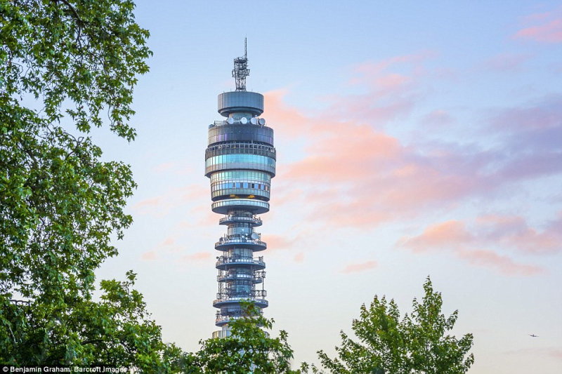 Башня BT Tower.