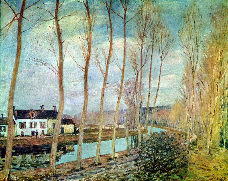 Sisley Alfred Loing canal Sun.jpeg