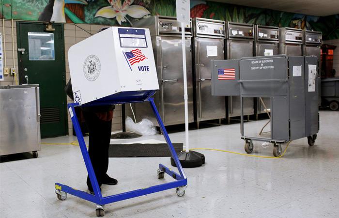 Выборы вСША: навосточном побережье открылись участки для голосования