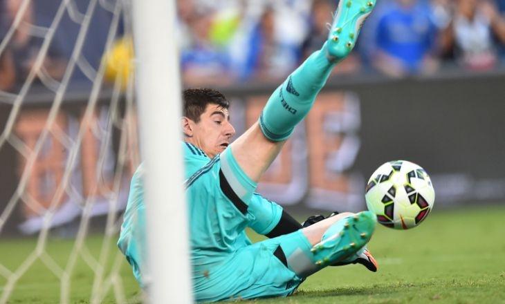 Куртуа неконтактировал с«Реалом» ине хочет возвращаться в«Атлетико»