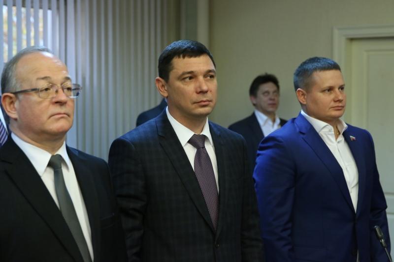 Евгений Первышов приступил кисполнению обязанностей главы Краснодара