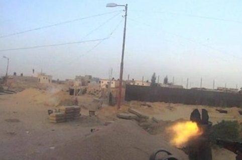 ВЕгипте боевики атаковали полицейский блокпост