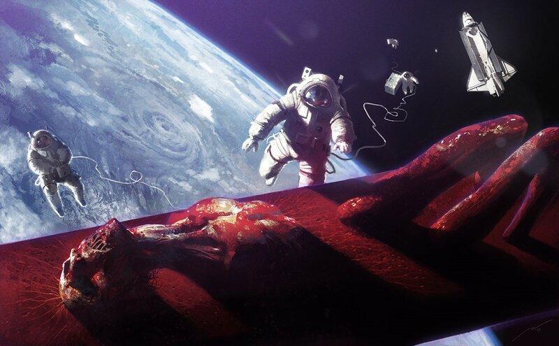 Космонавты, планеты, корабли, звезды… Обои   красивые картинки с астронавтами