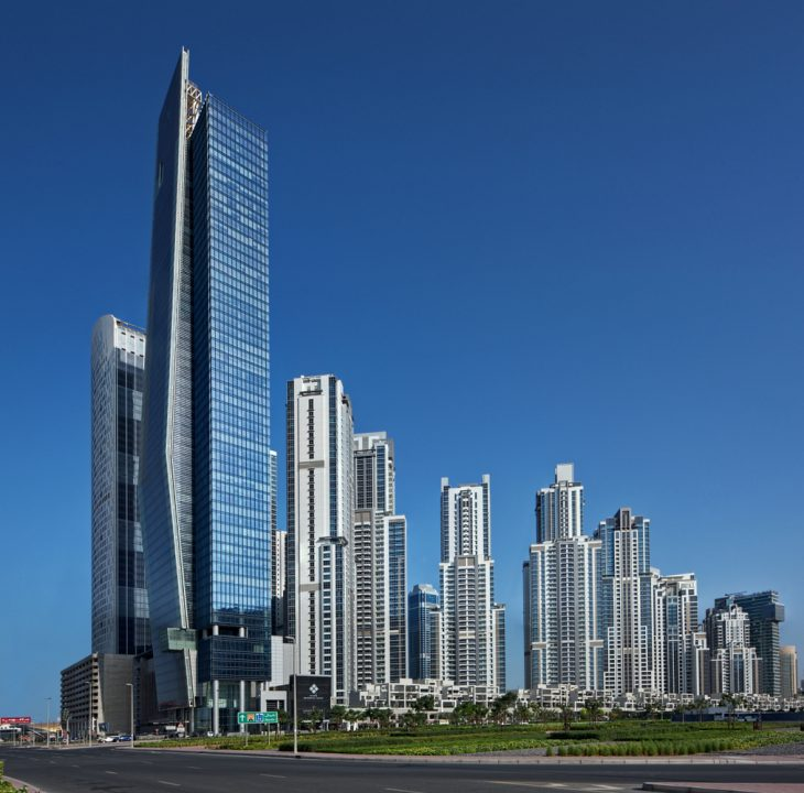 Vision Tower at Business Bay by tvsdesign