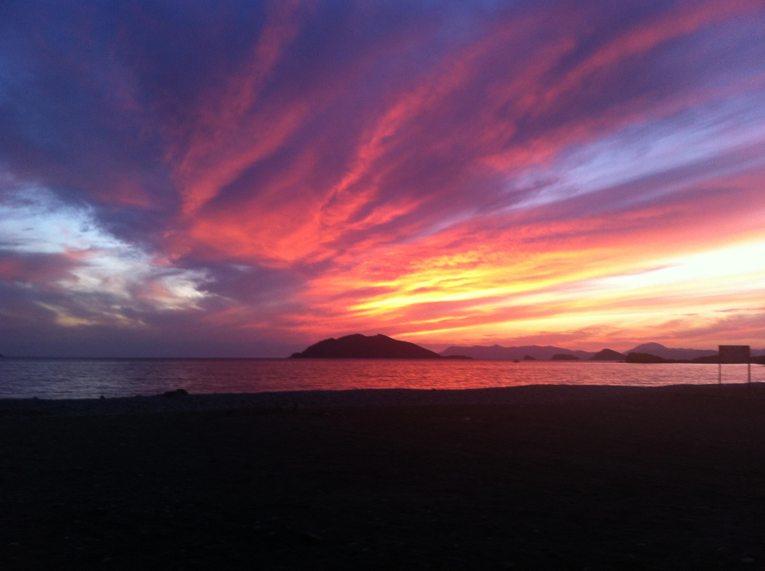красивейшие закаты фото просто нарисовать
