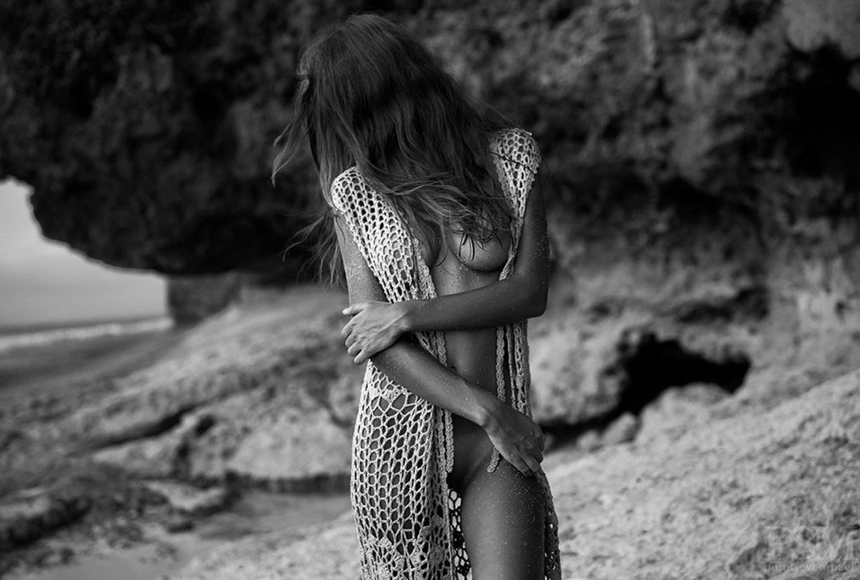 На голом пляже с Ангелиной Бойко / Angelina Boyko by Riccardo Ulpts - PointSevenMach