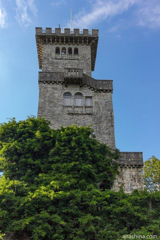 Башня Ахун, Сочи