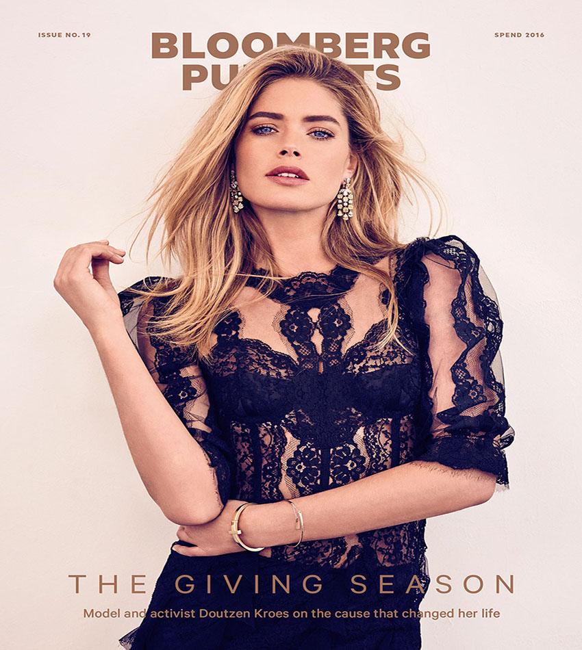 Doutzen Kroes - Bloomberg Pursuits (Issue #19, 2016)