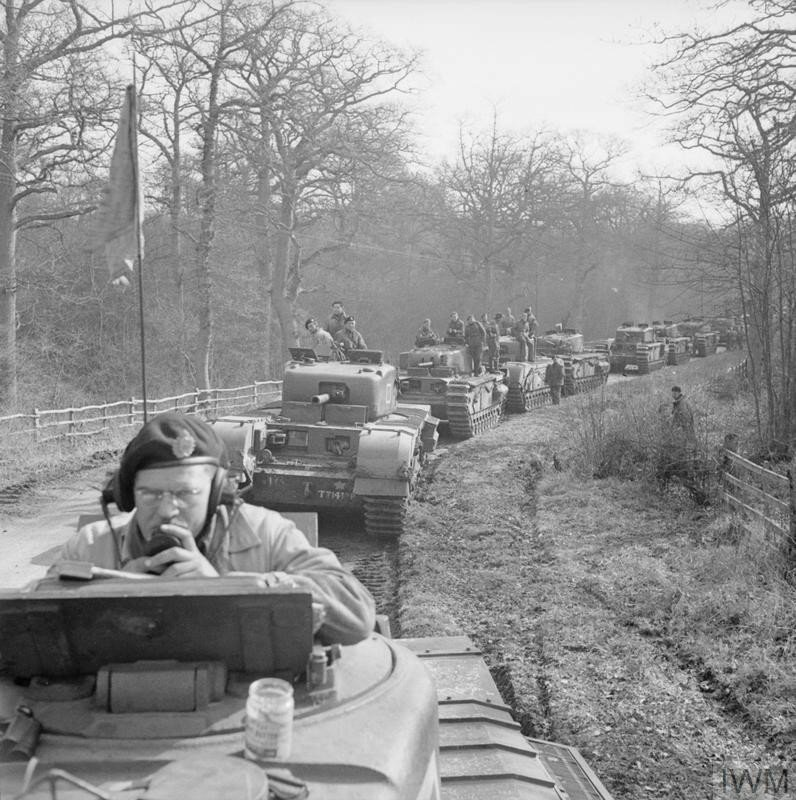 CANADIAN FORCES IN THE UNITED KINGDOM 1939-45