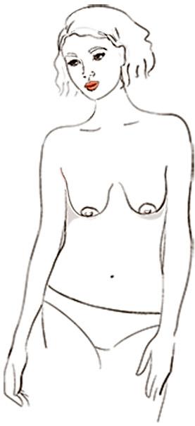 9 типов женской груди - Расслабленные