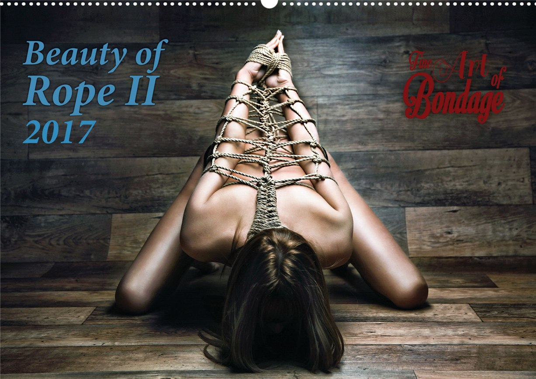 Искусство связывать девушек в календаре Beauty of Rope II - Calendar 2017 / Fine Art of Bondage