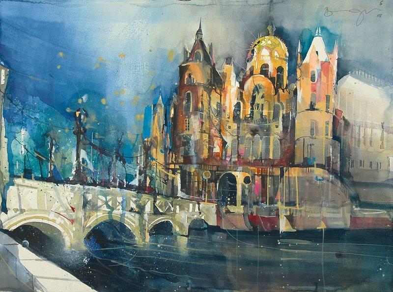 Творчество австрийского художника Бернарда Фогеля